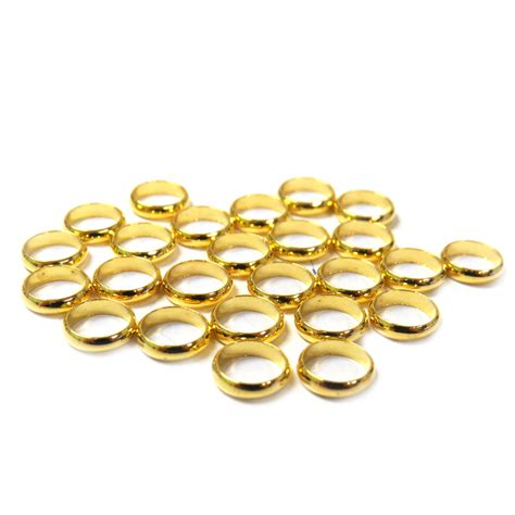 gold spacer spacer gold 8mm 25 pieces alonso sobrino