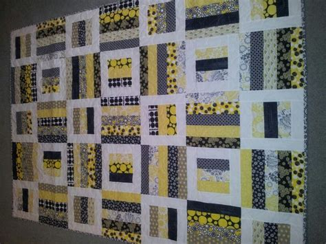black white and yellow quilt pattern black yellow and white quilt quilts pinterest
