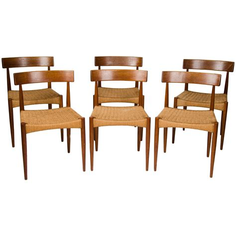 Dining Room Chairs Set Of 6 Set Of Six Dining Chairs At 1stdibs