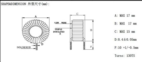 10h inductor size size of 1h inductor 28 images 10h inductor size 28 images transistor tester capacitor esr