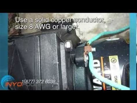 wire  pool pump youtube