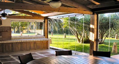 verande per terrazzi smontabili le vetrate panoramiche pieghevoli tuttovetro giemme system
