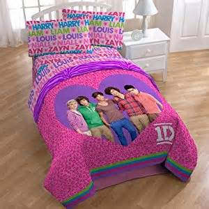 One Direction Bedroom Set One Direction 4pc Comforter And Sheet Set