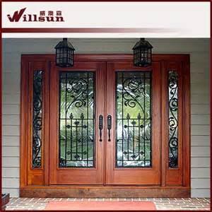ext 233 rieur en bois portes en fer forg 233 portes id de produit