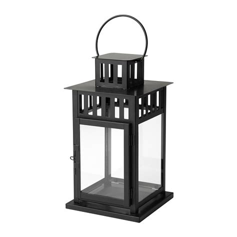 BORRBY Lantern for block candle IKEA