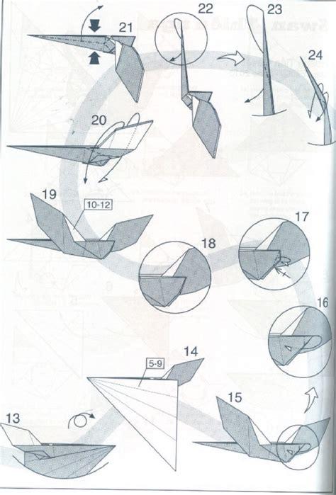 Origami Swan Diagram - swan quyet