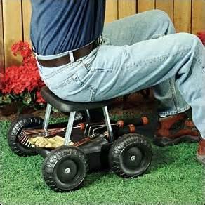 garden scooter seat garden scooter black gardens walter o brien and easy