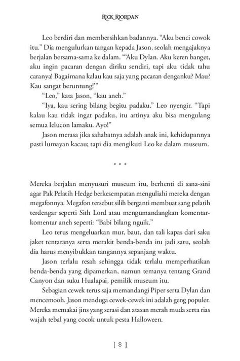 The Heroes Of Olympus 1 The Lost Bahasa Indonesia Ebook jual buku the heroes of olympus the lost oleh rick