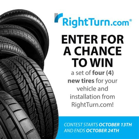 Tire Giveaway - right turn tire giveaway family focus blog