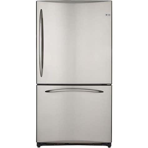 Single Door Refrigerator With Bottom Drawer Freezer by Ge 25 Cu Ft Bottom Freezer Refrigerator Single Door 220
