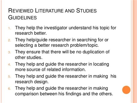 Thesis Chapter 2 Review Of Related Literature by Research Paper Chapter 2 Review Of Related Literature Essayanthology X Fc2