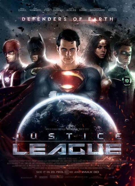 justice league upcoming film pretty darn cool fanmade justice league poster killing time