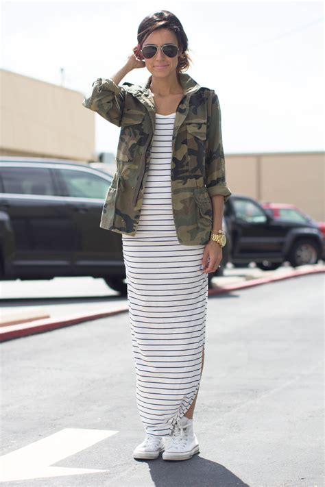 8 Ways To Wear Summer Clothes In Other Seasons by 7 Chic Ways To Wear Camo This Summer
