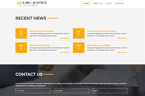 free bootstrap templates for lawyers law and justice attorney lawyer html5 template themes
