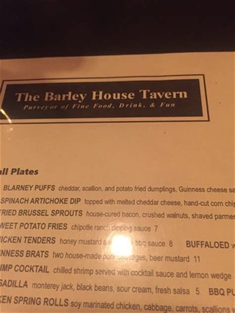 barley house concord nh the barley house concord omd 246 men om restauranger