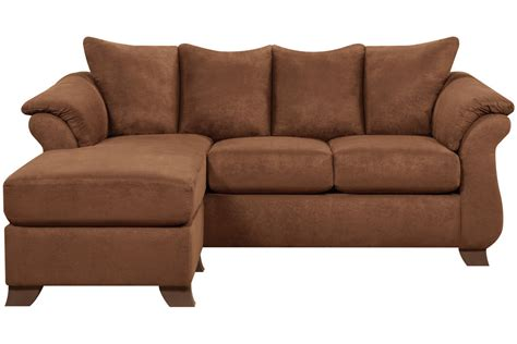 Microfiber Sectional Sofa With Ottoman by Vista Microfiber Sofa With Floating Ottoman