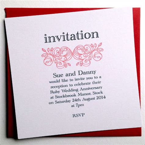Free Wedding Anniversary Invitation Card Templates by 88 Free Invitation Cards Free Premium Templates