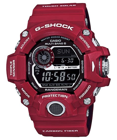 G Shock Gw 9400 Black Orange casio g shock rangeman gw 9400 all models released