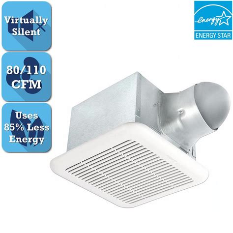 listen to the fan 93 7 delta breez greenbuilder series 100 cfm ceiling bathroom