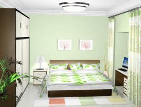 green walls bedroom pale green wall and b w tv cabinet interior design