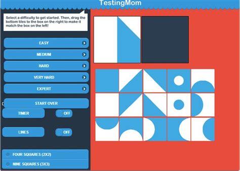pattern completion test kindergarten pattern tiles advanced beta great practice for the nnat
