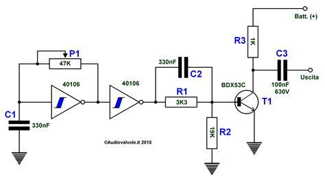porta trigger iniettore di segnali per apparati valvolari