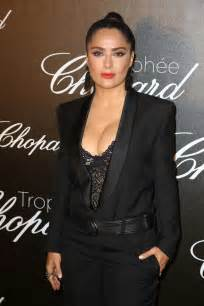Salma Blezer salma hayek chopard trophee event at 70th cannes