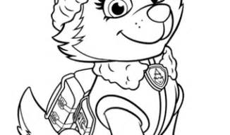 everest paw patrol coloring pages paw patrol coloring pages coloring page paw patrol
