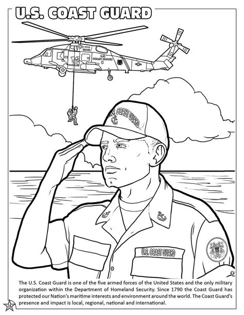 coloring page guard coloring books u s armed forces coloring and activity book