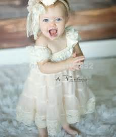 deluxe baby lace dress flower dresses