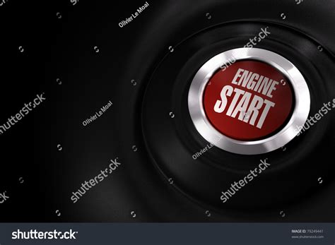 wallpaper engine on startup red engine start button over a black background with copy