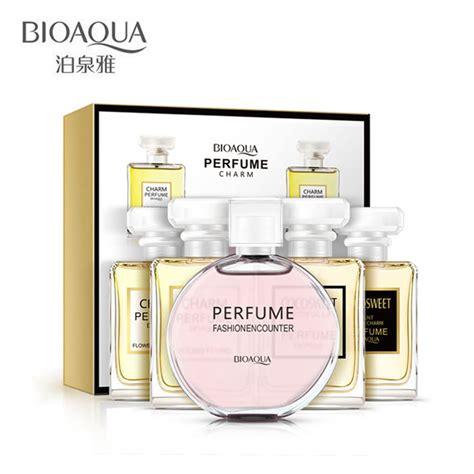 Parfum 5 In 1 bioaqua 5pcs lot liquid perfumes pheromones 100