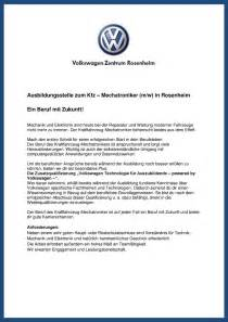 Bewerbung Deckblatt Kfz Mechatroniker Ausbildungsstelle Zum Kfz Mechatroniker M W In