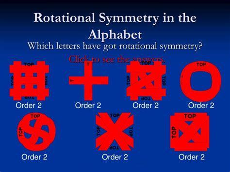 rotational symmetry powerpoint  id