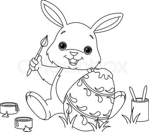 bunny with eggs coloring page lustige bilder zum ausmalen quotes
