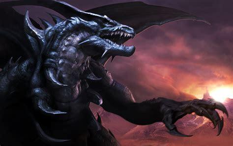 wallpaper black dragon dragons images black dragon hd wallpaper and background