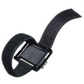 Velcro Wrist Band Wrist With Mount For velcro wrist band with mount for xiaomi yi xiaomi yi 2 4k and gopro 3 3 2 1