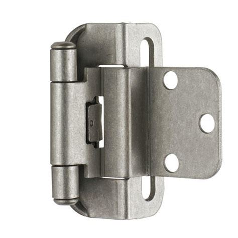 hinges for kitchen cabinets self closing partial wrap cabinet hinge 3 8 quot inset set