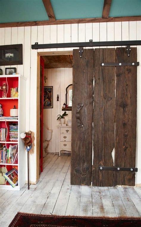 wooden bathroom doors old wooden sliding bathroom door h o m e pinterest