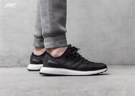 Adidas Pureboost Grey Black adidas pureboost black solid grey black