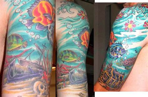 tropical fish tattoo designs tropical fish designs