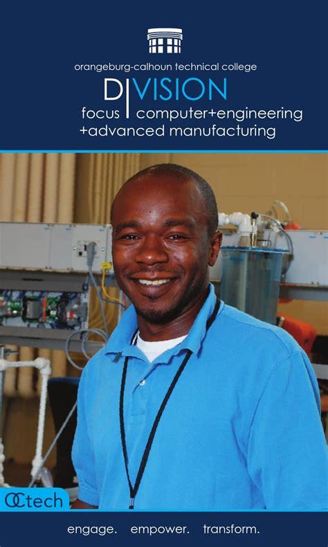publications orangeburg calhoun technical college advanced manufacturing by orangeburg calhoun technical