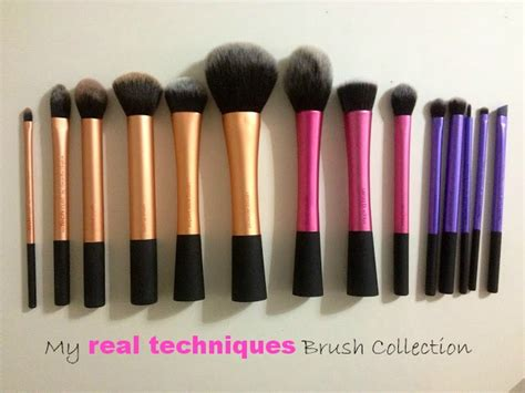beauty review real techniques make up brushes the red style real techniques by samantha chapman make up brush line