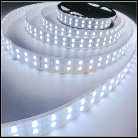 warm white white rgb smd 5050 double row waterproof led