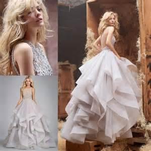 Embroidered Duvet Discount 2014 Floor Length Ball Gown Wedding Dresses