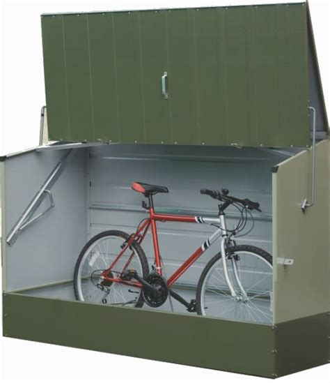 Trimetals Bike Shed by Trimetals Bicycle Storage Shed