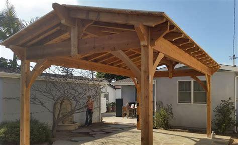 Western Cedar Pergola Kit Wood Choice California Cedar Diy Pavilion Western Timber Frame