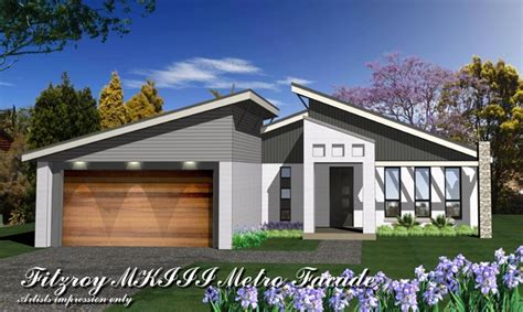 Split Bedroom Plan fitzroy mkiii metro facade home design tullipan homes