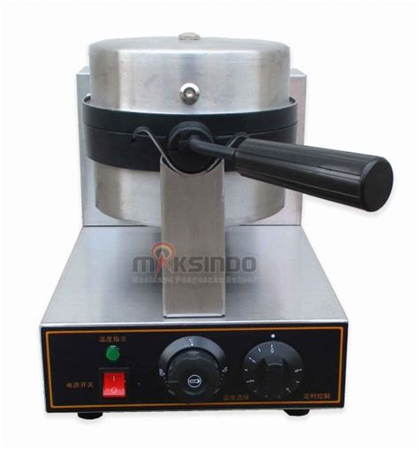 Best Seller Waffle Maker Rotating Pembuat Waffle Elektrik mesin rotating waffle maker mks rtw01 toko mesin