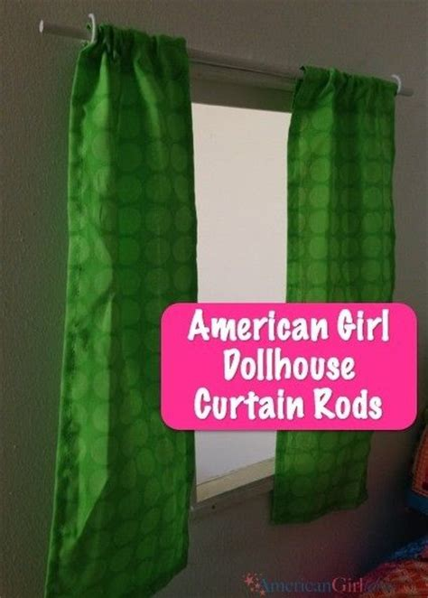 how to make dollhouse curtain rods curtain rods for 18 inch doll house how to make american